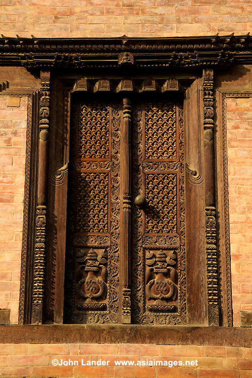 Newar architecture is found in the Kathmandu Valley which consists of both Hindu and Buddhist monuments.  Woodwork in Nepal has been flourishing for centuries.  Many of the original woodworks were destroyed during disasters such as fires, earthquakes, and foreign invasions and then rebuilt. From the start of the Malla period woodcraft along with architecture started to thrive and reached its pinnacle when the Valley was divided into three Kingdoms. As the three kings competed to improve the magnificence of their palaces, more beautiful crafts were created to outdo the others. During and after the Malla period, the houses built in Kathmandu used wood as a very important constructing material where wood was almost exclusively used for doors, windows and pillars.