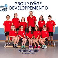 GROUP D'ÂGE DÉVELOPPEMENT D