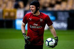 Petr Cech of Arsenal - Mandatory by-line: Robbie Stephenson/JMP - 24/04/2019 - FOOTBALL - Molineux - Wolverhampton, England - Wolverhampton Wanderers v Arsenal - Premier League