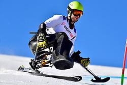 SIKORSKI Igor, LW11, POL, Giant Slalom at the WPAS_2019 Alpine Skiing World Cup, La Molina, Spain