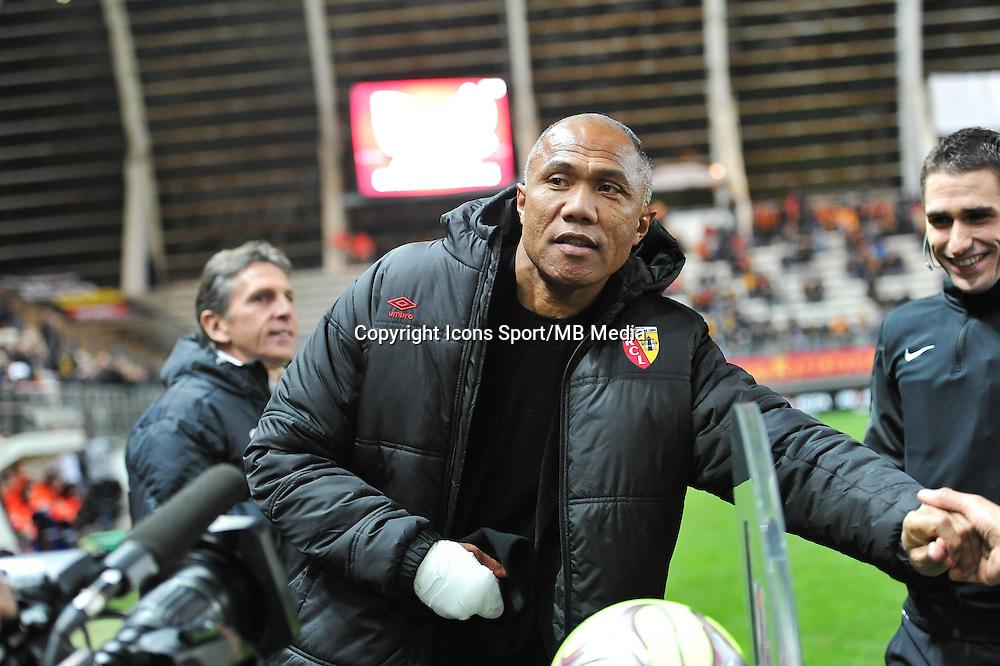 Antoine KOMBOUARE - 19.12.2014 - Lens / Nice - 19e journee Ligue 1<br />Photo : Aurelien Meunier / Icon Sport