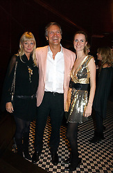 Left to right, CHARLES & PANDORA DELEVINGNE with their daughter CHLOE DELEVINGNE at The Christmas Cracker - an evening i aid of the Starlight Children's Charity held at Frankies, Knightsbridge on 13th December 2006.<br /><br />NON EXCLUSIVE - WORLD RIGHTS
