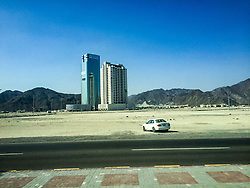 Street images from Fujairah city tour, Khor Fakkan. Images from the MSC Musica cruise to the Persian Gulf, visiting Abu Dhabi, Khor al Fakkan, Khasab, Muscat, and Dubai, traveling from 13/12/2015 to 20/12/2015.