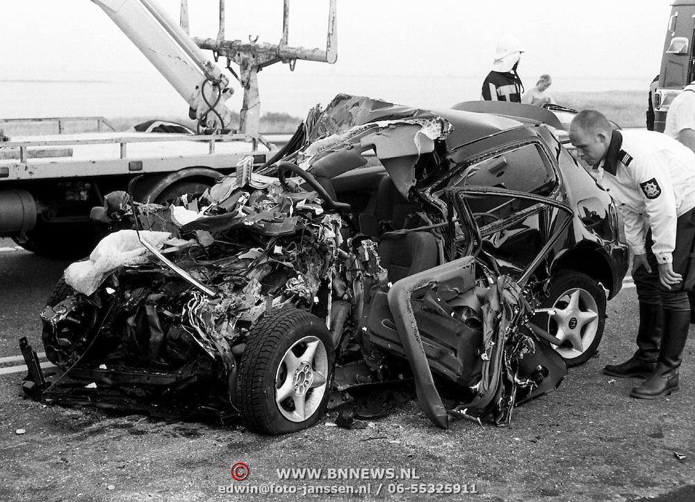 Dodelijk ongeval N27 Blaricum Stichtse Brug