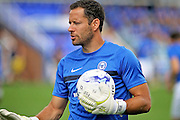 Peterborough goalkeeper and goalkeeping coach Mark Tyler before the Pre-Season Friendly match between Peterborough United and Leeds United at London Road, Peterborough, England on 23 July 2016. Photo by Nigel Cole.
