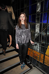 Actress BONNIE WRIGHT at the 2nd Rodial Beautiful Awards in aid of the Hoping Foundation held at The Sanderson Hotel, 50 Berners Street, London on 1st February 2011.