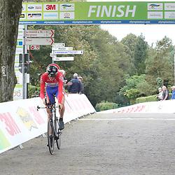 29-09-2016: Wielrennen: Olympia Tour: Elten <br /> ELTEN (DLD) wielrennen<br /> Een individuele tijdrit met start in Kasteel  's Heerenberg en finish op de Elterberg. Nationaal kampioen Tim Rodenburg