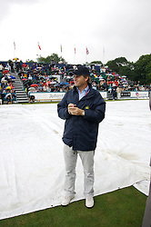 Liverpool, England - Wednesday, June 13, 2007: Tournament Director Anders Borg during day two of the Liverpool International Tennis Tournament at Calderstones Park. (Pic by David Rawcliffe/Propaganda)