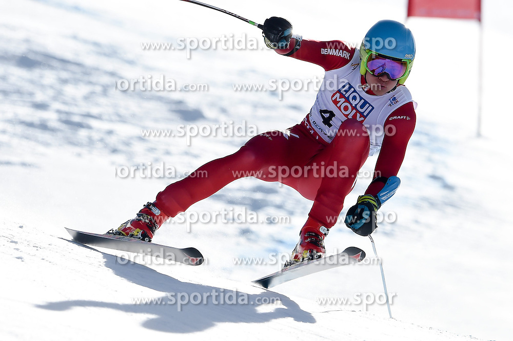 05.02.2015, Birds of Prey Course, Beaver Creek, USA, FIS Weltmeisterschaften Ski Alpin, Vail Beaver Creek 2015, Herren, SuperG, im Bild Christoffer Faarup (DAN) // Christoffer Faarup of Denmark in action during the men's Super-G of FIS Ski World Championships 2015 at the Birds of Prey Course in Beaver Creek, United States on 2015/02/05. EXPA Pictures © 2015, PhotoCredit: EXPA/ Jonas Ericson