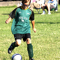 Patrick Yuchnitz playing for Lakewood Celoron Moose in the Southwestren Youth Soccer league 6-2-09 photo by Mark L. Anderson