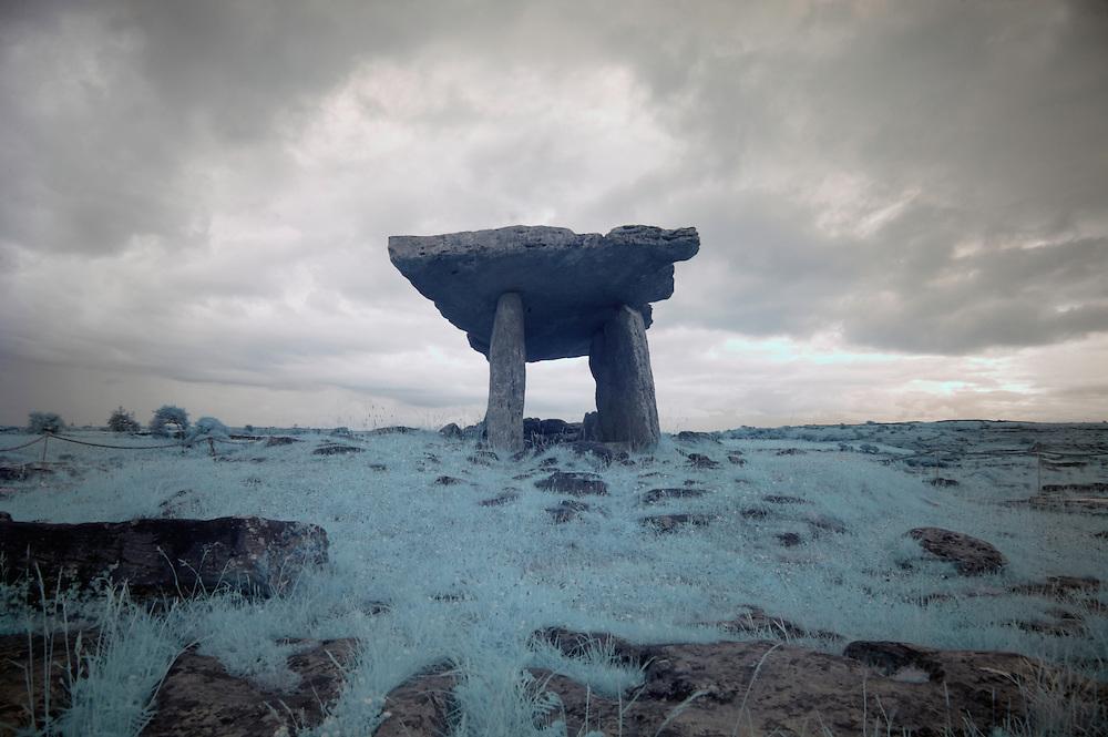 Poulnabrone Portal Dolmen Burren Ireland