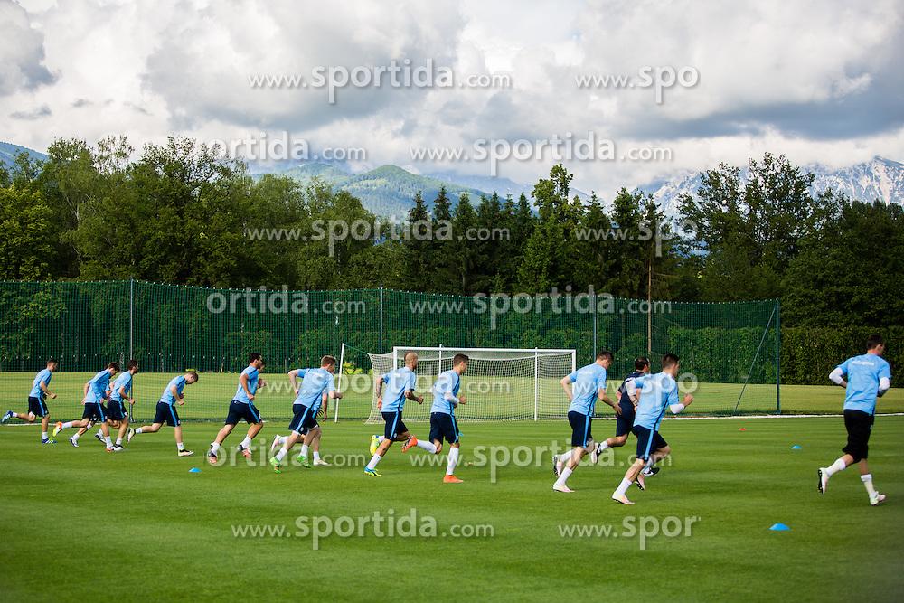 Slovenian team during practice session of Slovenian Football Team before friendly match against Turkey, on June 2, 2016 in Football centre Brdo pri Kranju, Slovenia. Photo by Ziga Zupan / Sportida