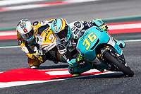 Joan Mir of Spain and Leopard Racing Team  rides during free practice for the Moto3 of Catalunya at Circuit de Catalunya on June 10, 2017 in Montmelo, Spain.(ALTERPHOTOS/Rodrigo Jimenez)