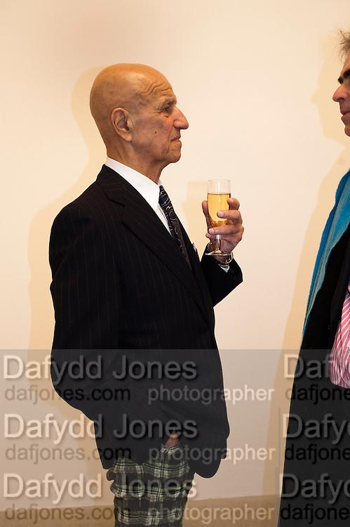 ALEX KATZ, Alex Katz opening. Timothy Taylor gallery. London. 3 March 2010.