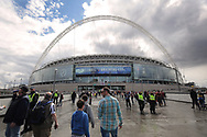 Wembley before the Sky Bet League 1 play-off final at Wembley Stadium, London<br /> Picture by Glenn Sparkes/Focus Images Ltd 07939664067<br /> 20/05/2017