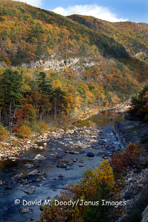 Maury River on Rt. 39, West of  Lexington, Virginia