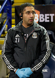 BOLTON, ENGLAND - Saturday, January 21, 2011: Liverpool's first team Doctor Zaf Iqbal before the Premiership match against Bolton Wanderers at the Reebok Stadium. (Pic by David Rawcliffe/Propaganda)