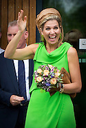 Queen Maxima opened  'T Hamrik in Nieuwolda, 07-07-2015