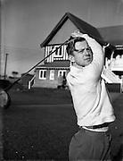 14/10/1952<br /> 10/14/1952<br /> 14 October 1952<br /> Ray Hayden Asscs. Professional Golfer at Woodbrook Golf Club, Bray, Co. Wicklow.