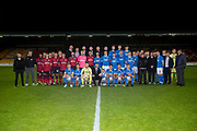 06/10/2017 - St Johnstone v Dundee - Dave Mackay testimonial at McDiarmid Park, Perth, Picture by David Young - The teams before kick off