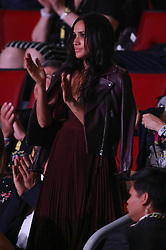 Meghan Markle attended the Invictus opening ceremony sitting 18 rows from Prince Harry <br />