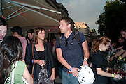 Open air screening of Knight and Day at the opening night of Film 4 Summer Screen 2010. Somerset House. London. 29 July 2010. -DO NOT ARCHIVE-© Copyright Photograph by Dafydd Jones. 248 Clapham Rd. London SW9 0PZ. Tel 0207 820 0771. www.dafjones.com. SOPHIE NEAVE; RICK EDWARDS, Open air screening of Knight and Day at the opening night of Film 4 Summer Screen 2010. Somerset House. London. 29 July 2010. -DO NOT ARCHIVE-© Copyright Photograph by Dafydd Jones. 248 Clapham Rd. London SW9 0PZ. Tel 0207 820 0771. www.dafjones.com.