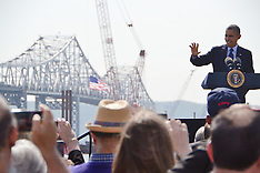 George's Photos of Pres Obama at Tappan Zee Bridge
