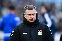 Football - 2019 / 2020 Emirates FA Cup - Third Round: Bristol Rovers vs. Coventry City<br /> <br /> Coventry City's Manager Mark Robins, at the Memorial Stadium.<br /> <br /> COLORSPORT/ASHLEY WESTERN