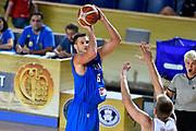 DESCRIZIONE : Tbilisi Nazionale Italia Uomini Tbilisi City Hall Cup Italia Italy Lettonia Latvia<br /> GIOCATORE : Danilo Gallinari<br /> CATEGORIA : tiro three points<br /> SQUADRA : Italia Italy<br /> EVENTO : Tbilisi City Hall Cup<br /> GARA : Italia Lettonia Italy Latvia<br /> DATA : 14/08/2015<br /> SPORT : Pallacanestro<br /> AUTORE : Agenzia Ciamillo-Castoria/GiulioCiamillo<br /> Galleria : FIP Nazionali 2015<br /> Fotonotizia : Tbilisi Nazionale Italia Uomini Tbilisi City Hall Cup Italia Italy Lettonia Latvia