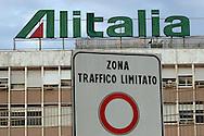 """Rome, Italy 23/01/2006: Headquarters of the Italian airline company """"Alitalia"""", Fiumicino Airport """"Leonardo da Vinci"""".©Andrea Sabbadini"""