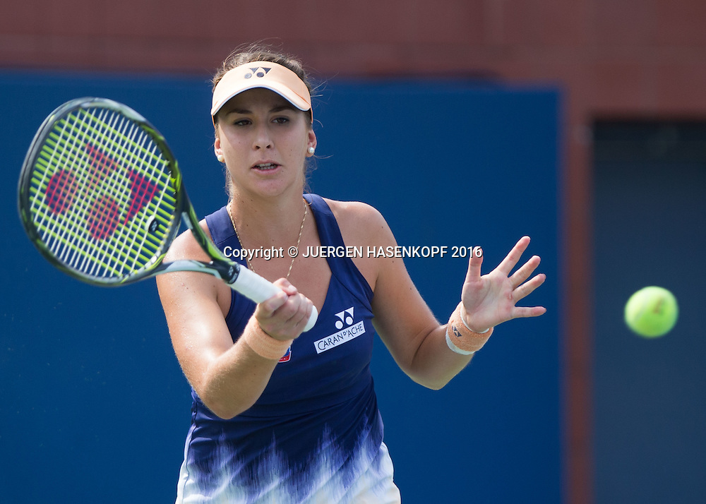 BELINDA BENCIC (SUI)<br /> <br /> Tennis - US Open 2016 - Grand Slam ITF / ATP / WTA -  USTA Billie Jean King National Tennis Center - New York - New York - USA  - 31 August 2016.