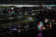 January 26-29, 2017: Rolex Daytona 24. Arial view of Daytona during the 55th Daytona 24, pictured 10 Wayne Taylor Racing, DPi, Ricky Taylor, Jordan Taylor, Max Angelelli, Jeff Gordon from above Daytona arial view from a cessna plane