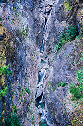 Gorge Creek Falls, North Cascades National Park, Washington, US
