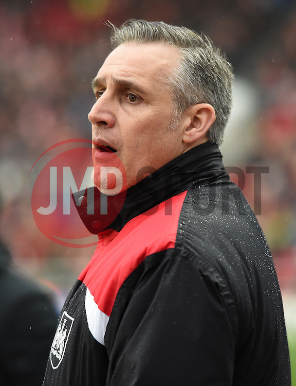 John Pemberton coach of Bristol City - Mandatory by-line: Paul Knight/JMP - Mobile: 07966 386802 - 13/02/2016 -  FOOTBALL - Ashton Gate Stadium - Bristol, England -  Bristol City v Ipswich Town - Sky Bet Championship