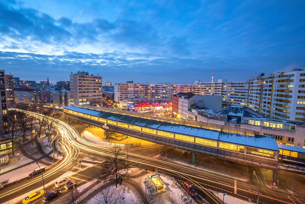 Im Herzen von Kreuzberg liegt das Kottbusser Tor.