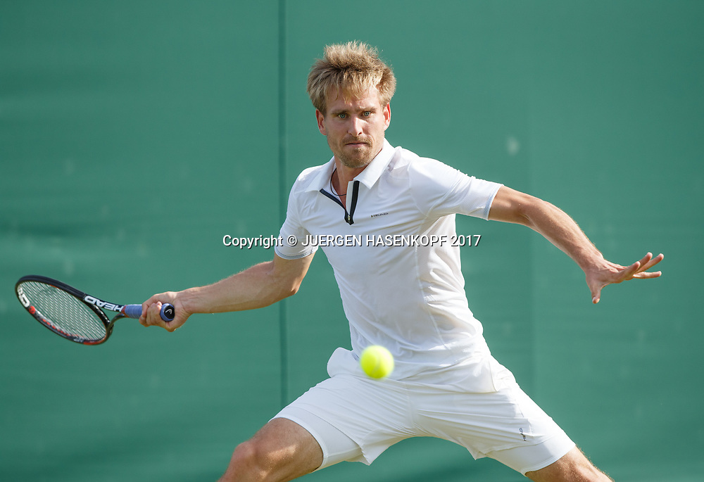 PETER GOJOWCZYK (GER)<br /> <br /> Tennis - Wimbledon 2017 - Grand Slam ITF / ATP / WTA -  AELTC - London -  - Great Britain  - 3 July 2017.