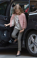 Palma de Mallorca, 27-03-2016<br /> <br /> King Felipe and Queen Letizia,<br /> Princess Leonor and Princess Sofia and Queen Sofia  attended the Easter Mass at the Cathedral of Palma de Mallorca.<br /> <br /> Copyright: Royalportraits Europe/Bernard Ruebsamen