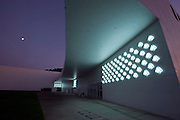 Photo shows the entrance way to the Aomori Museum of Art in Aomori City, Aomori Prefecture, Japan on 11 July, 2001..Photographer: Robert Gilhooly