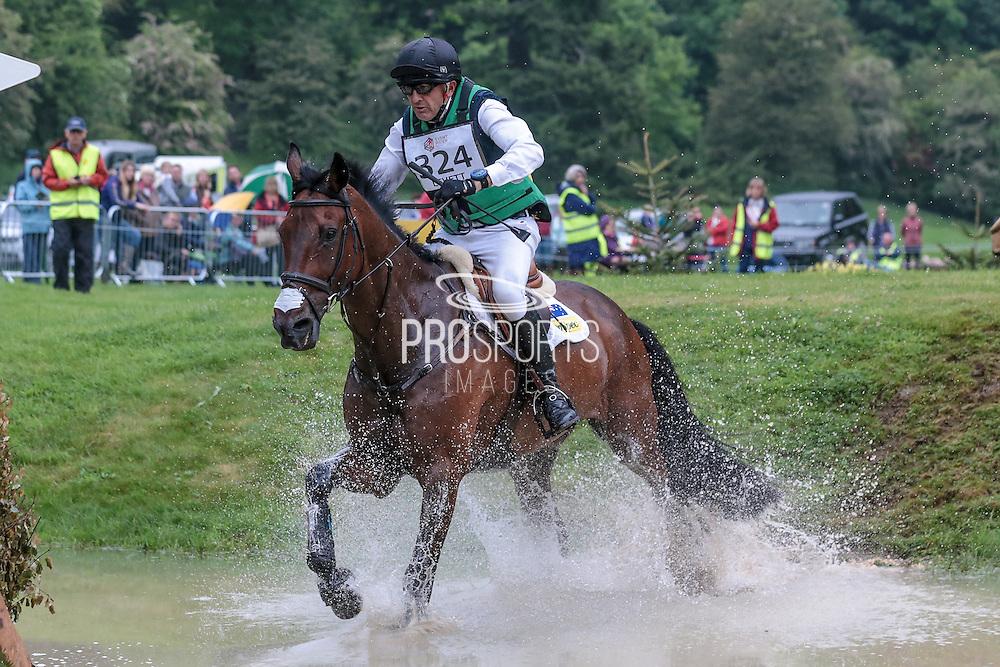 SHANNONDALE TITAN ridden by Bill Levett at Bramham International Horse Trials 2016 at  at Bramham Park, Bramham, United Kingdom on 11 June 2016. Photo by Mark P Doherty.