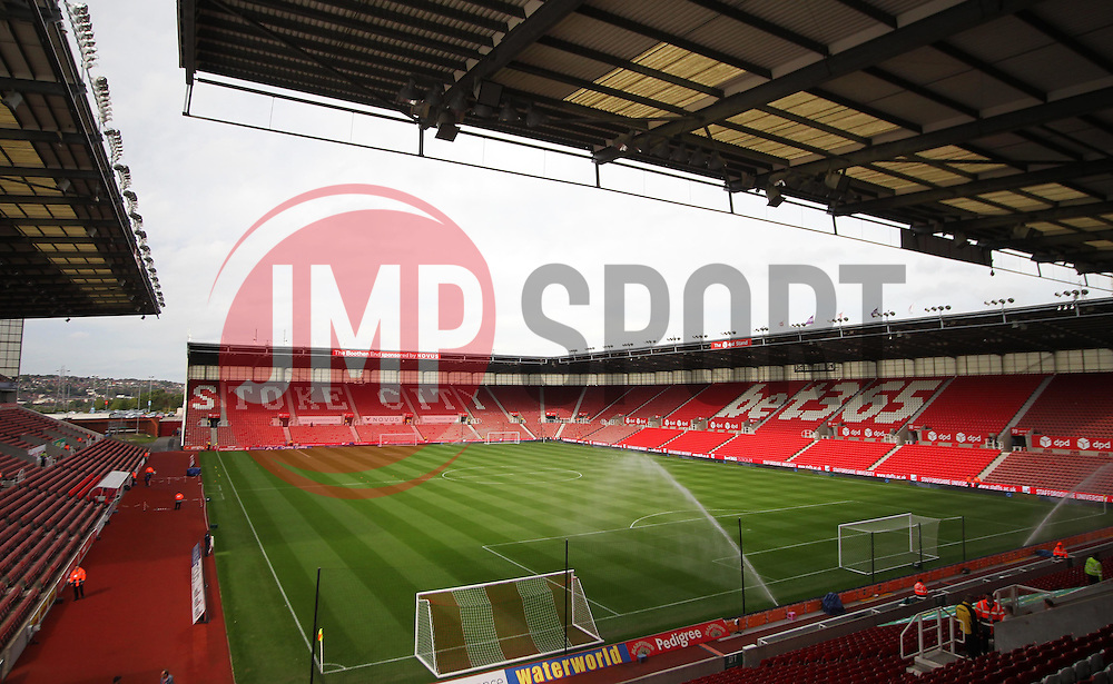 General view of the Bet365 Stadium before the match - Mandatory by-line: Jack Phillips/JMP - 24/09/2016 - FOOTBALL - Bet365 Stadium - Stoke-on-Trent, England - Stoke City v West Bromwich Albion - Premier League