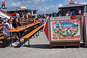 Sylt, Germany. List. Gosch fish and seafood restaurant.