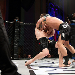 PAUL KINGDON PULLS JOHNNY WILLIAMS TO THE GROUND - UCMMA 34 2 JUNE 2013