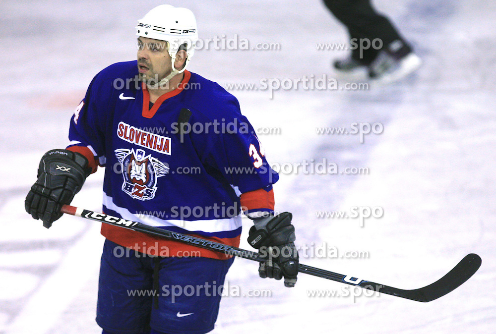 Peter Rozic at friendly ice-hockey game Slovenia Oldies vs Gazprom Export (Russia), on October 24, 2008 in Hala Tivoli, Ljubljana, Slovenia. Gazprom Export won 6:3.(Photo by Vid Ponikvar / Sportal Images)