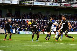 Tom Broadbent of Bristol Rovers takes a shot at goal  - Mandatory by-line: Dougie Allward/JMP - 18/11/2017 - FOOTBALL - Memorial Stadium - Bristol, England - Bristol Rovers v AFC Wimbledon - Sky Bet League One