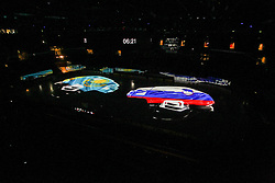Arena prior to the Ice Hockey match between National Teams of Kazakhstan and Slovenia in Round #4 of 2018 IIHF Ice Hockey World Championship Division I Group A, on April 27, 2018 in Arena Laszla Pappa, Budapest, Hungary. Photo by David Balogh / Sportida