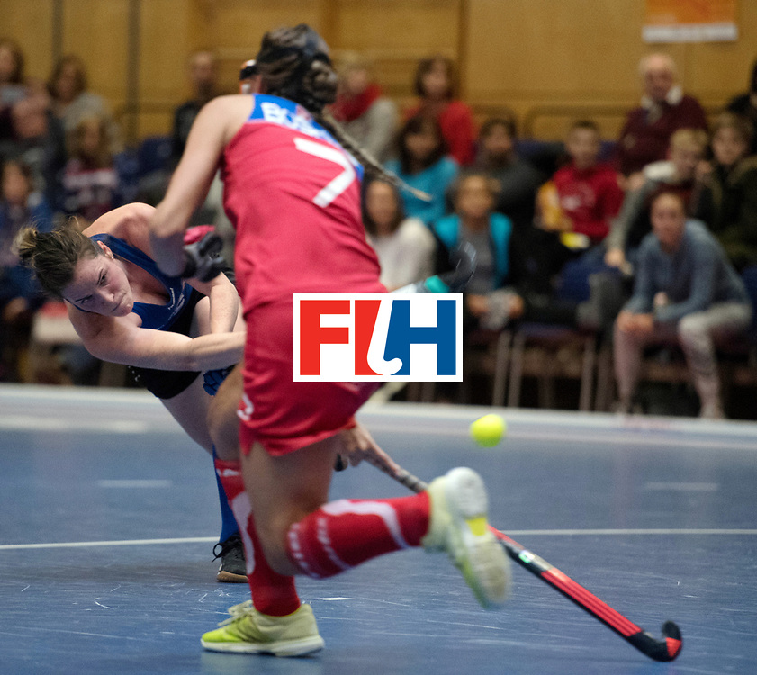 BERLIN - Indoor Hockey World Cup<br /> United States - Namibia<br /> foto: Ali Campbell and Dure Boshoff <br /> WORLDSPORTPICS COPYRIGHT FRANK UIJLENBROEK