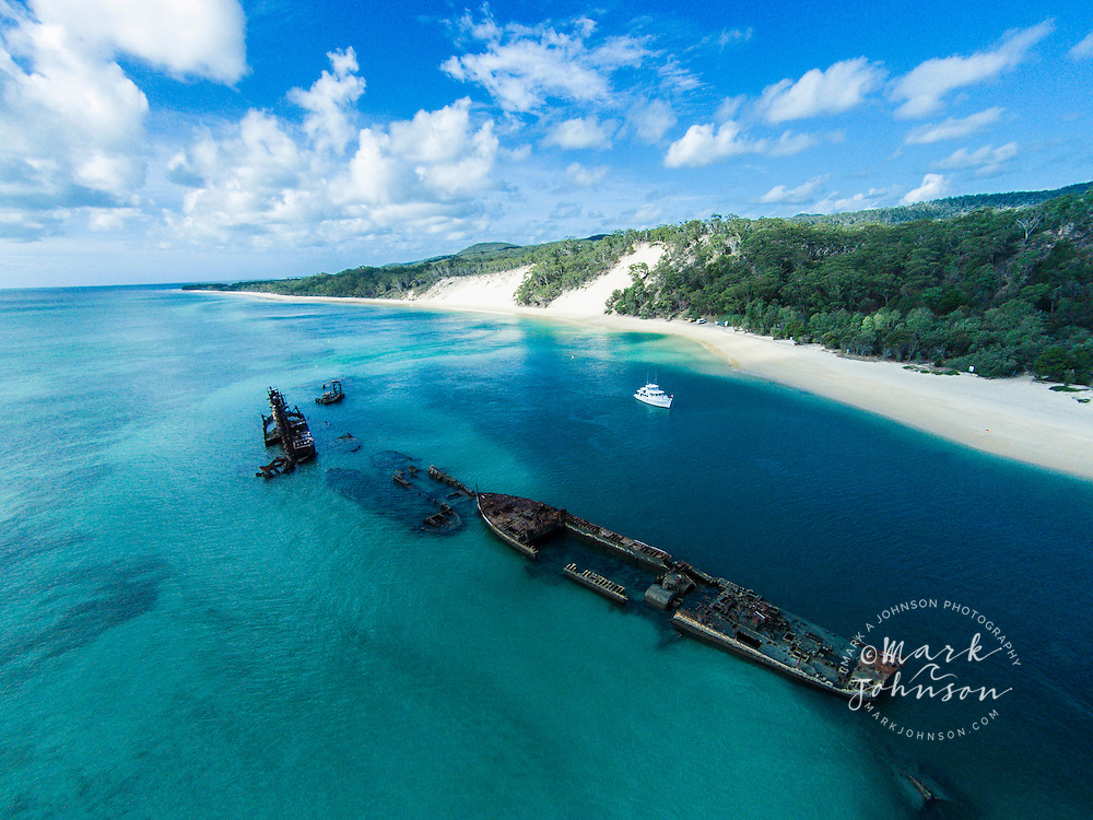 The Wrecks, Tangalooma, Moreton Island, Queensland, Australia