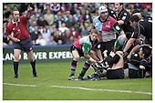 Harlequins v Newcastle Falcons 5-10--2002. Season 2002-2003.