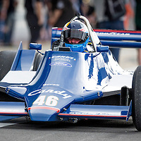 #46, Tyrrell 009 (1979), Peter Williams (GB), Silverstone Classic 2015, FIA Masters Historic Formula One. 25.07.2015. Silverstone, England, U.K.  Silverstone Classic 2015.
