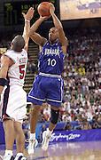 Olimpiadi Sydney 2000<br /> Italia - Usa<br /> Nella foto: Carlton Myers